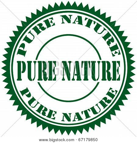 Pure Nature-stamp