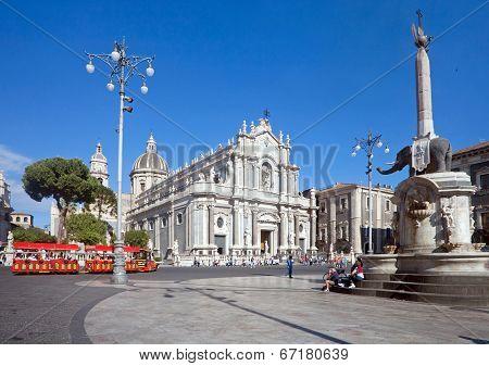 Catania's main square