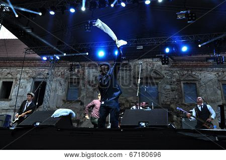 Dub Pistols live at Electric Castle Festival on the main stage