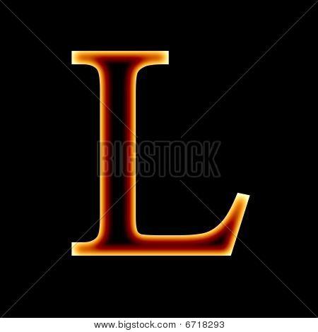 : Fire font