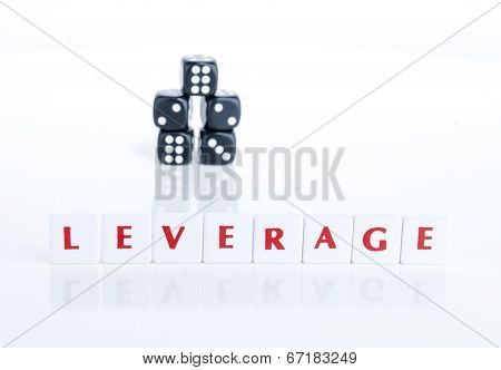 LEVERAGE LETTER PIECES AND DICE