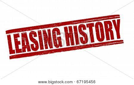 Leasing History