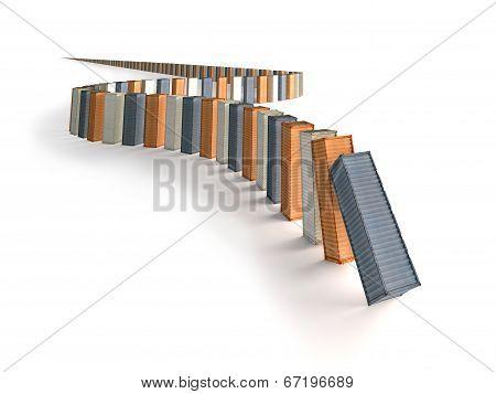Container Domino