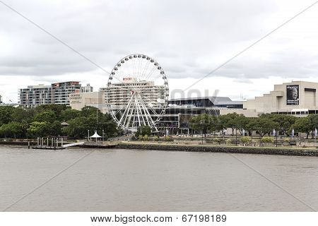 Brisbane Wheel at Southbank