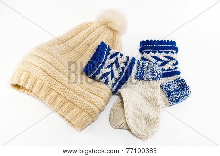 Warm Socks And Cap