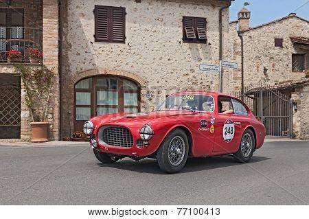 Ferrari 225 S Berlinetta Vignale (1952) In Mille Miglia 2014
