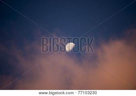 Moon At Dawn