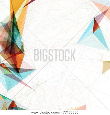 Abstract Mesh Background | EPS10 Futuristic Design
