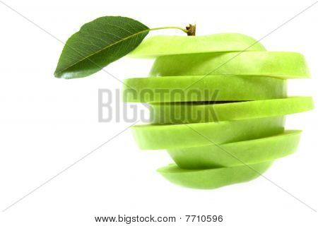 Ripe Fresh Green Apple