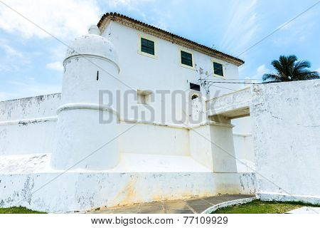 Mont Serrat Fortress in Salvador, Bahia, Brazil