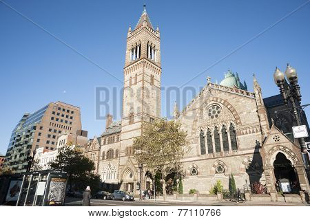 Old South Church, Copley Square, Boston.