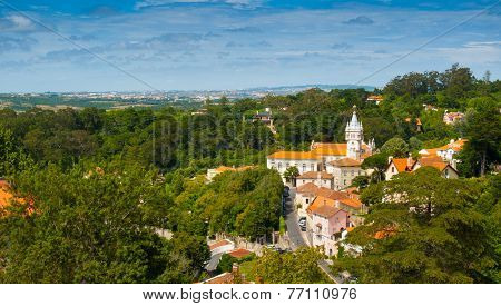 Sintra Cityscape Wide