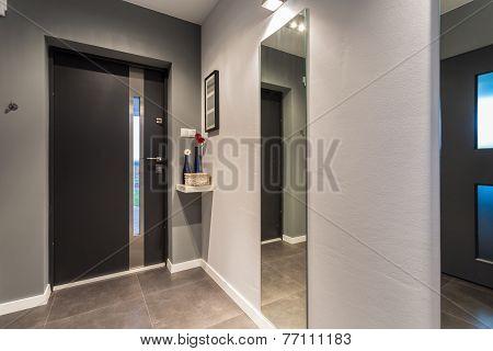 Front Door - View From Indoor