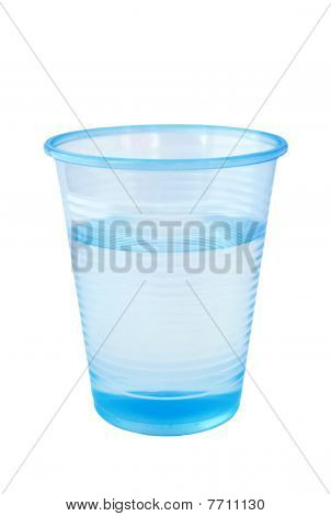 Cup of water from dispenser