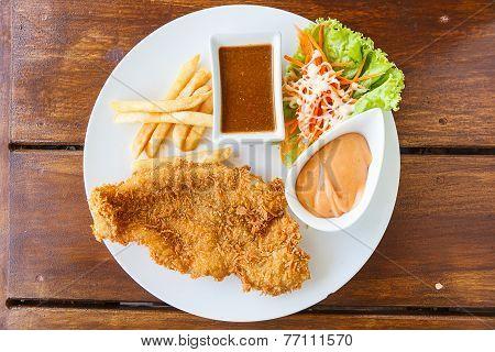 Fish Dolly Steak
