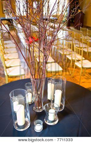 Empty Wedding Reception