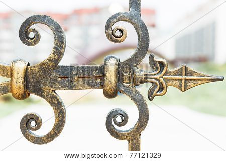 Decorative Metal Hinge