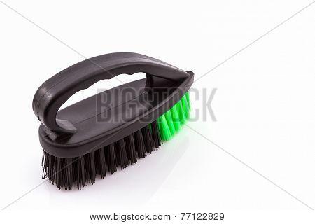Black Cleaning Plastic Brush.