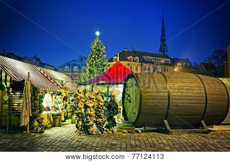 European Christmas Market Square