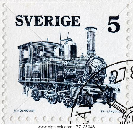 Gotland Steam Locomotive