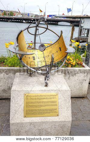 Geneva. Sundial