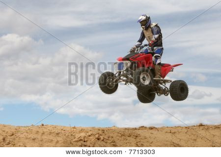 Four-wheeler Jumping.
