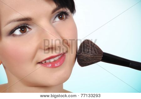 Woman With Brush