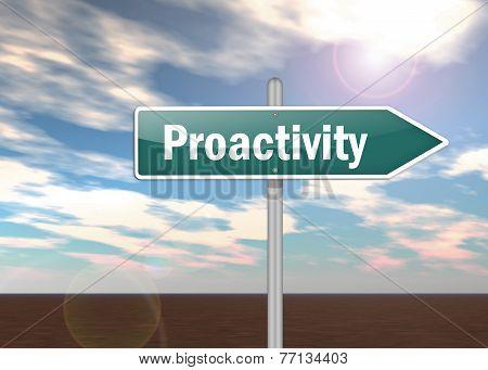 Signpost Proactivity