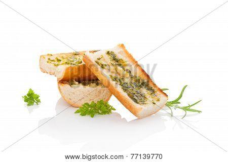 Garlic Baguette.