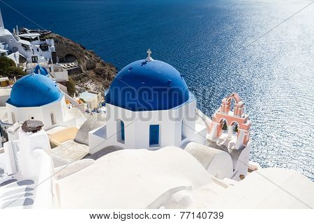 Cycladic Church Of Oia