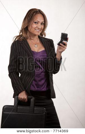 Attractive Twenties Asian Businesswoman