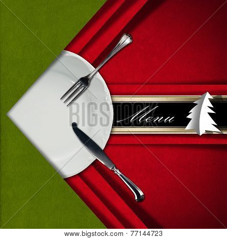 Christmas Restaurant Menu