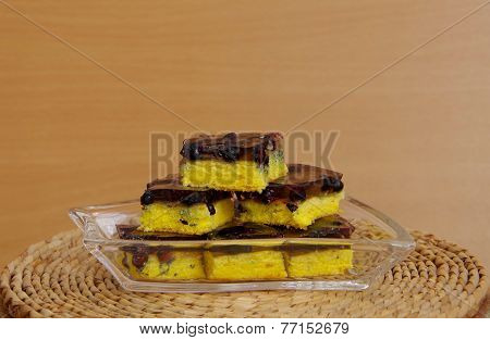 Blueberry Pie With Gelatin