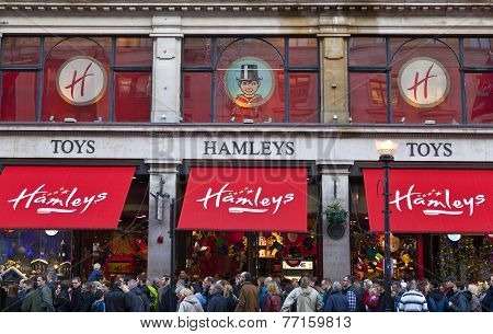 Hamleys Toy Shop In London