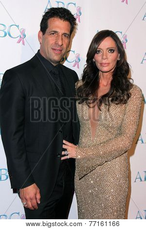 LOS ANGELES - NOV 22:  David Gebbia, Carlton Gebbia at the ABC 25th Annual Talk Of The Town Black Tie Gala at the Beverly Hilton Hotel on November 22, 2014 in Beverly Hills, CA