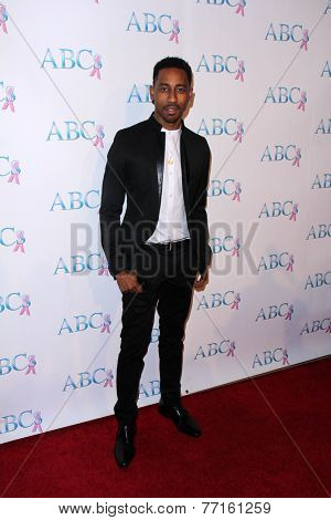 LOS ANGELES - NOV 22:  Brandon T. Jackson at the ABC 25th Annual Talk Of The Town Black Tie Gala at the Beverly Hilton Hotel on November 22, 2014 in Beverly Hills, CA