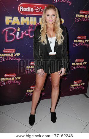 LOS ANGELES - NOV 22:  Alli Simpson at the Radio Disney's Family VIP Birthday at the Club Nokia on November 22, 2014 in Los Angeles, CA