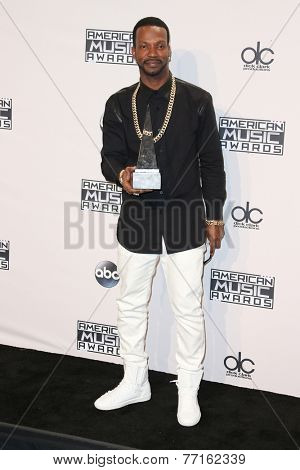 LOS ANGELES - NOV 23:  Juicy J at the 2014 American Music Awards - Press Room at the Nokia Theater on November 23, 2014 in Los Angeles, CA