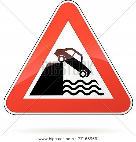 Water Warning Sign