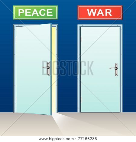 Peace And War Doors