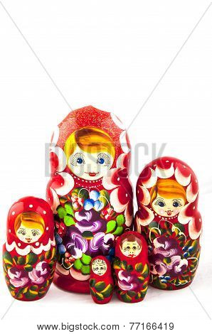 Russian traditional toys