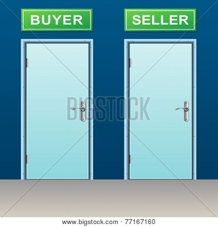 Buyer And Seller Doors