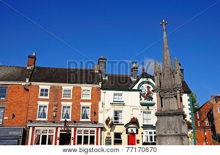 The Market Cross, Ashbourne.