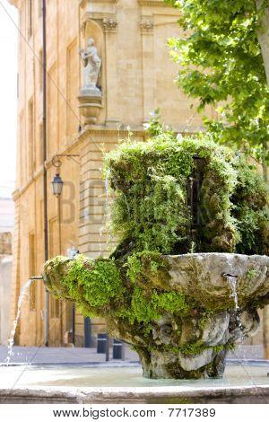 fountain Aix - en - Provence Provence France
