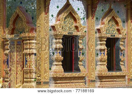 Wat Mani Phraison, Mae Sot, Tak province, Thailand.