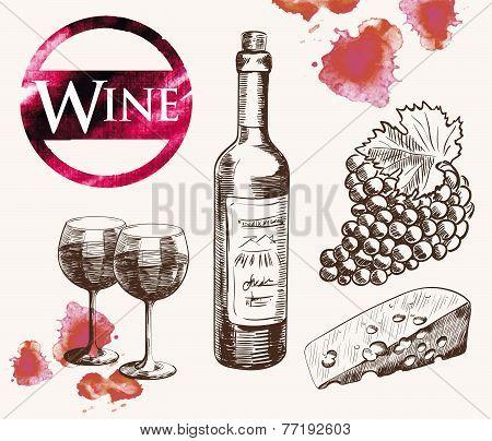 old wine tasting