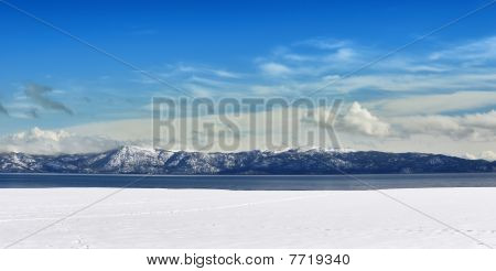 Tahoe Winter Panorama