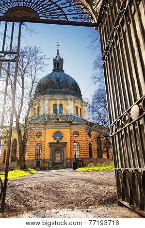 Hedvig Eleonora Church In Stockholm, Sweden