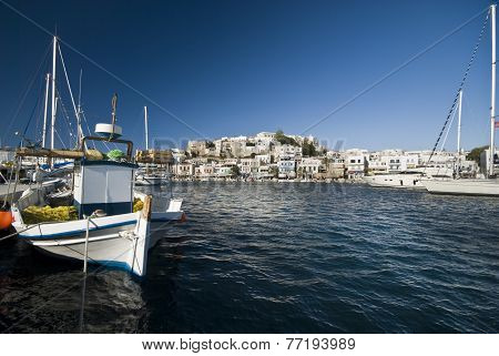 Harbour in Naxos
