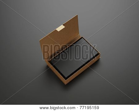 Black Business Cards In The Box